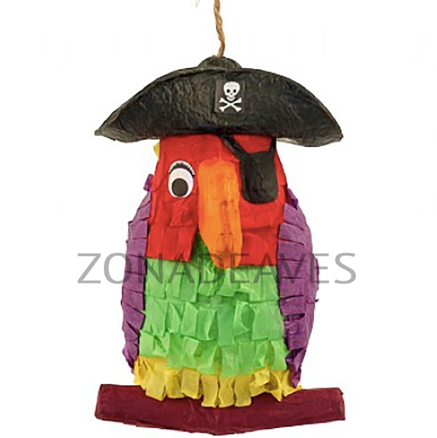 Piñata para loros Pirata