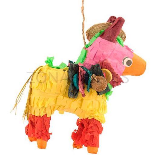 "Piñata para loros ""Pony mex"" [1]"