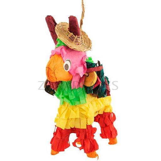 "Piñata para loros ""Pony mex"""