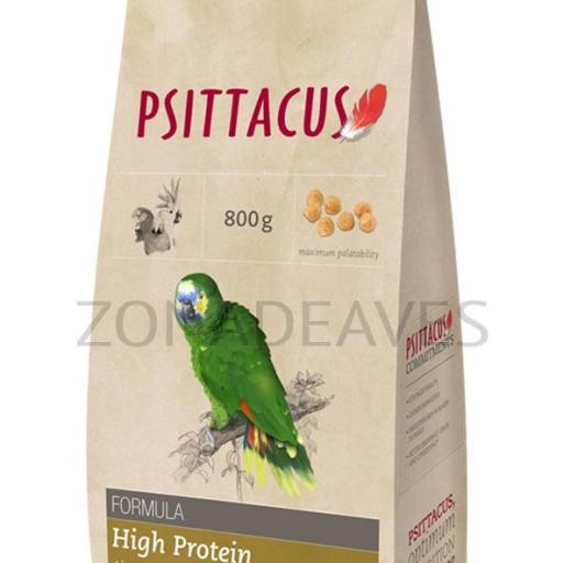 Pienso Psittacus alta proteina