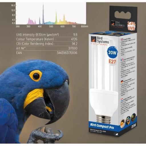 Bombilla Bird System 2,4 UVB [1]