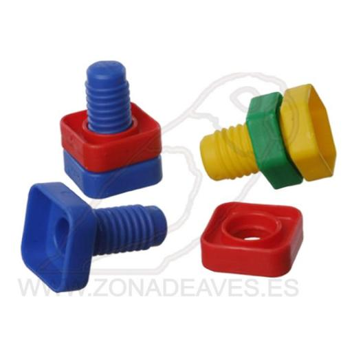 Tornillo y Tuerca (pack 2) [1]