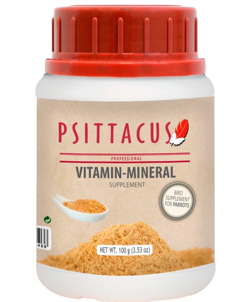 Psittacus Vitamin-Mineral 100gr