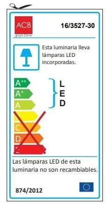 APLIQUE ALIENA LEDS de BAÑO  [2]