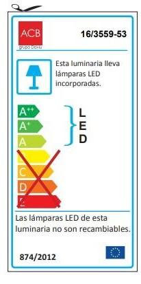 APLIQUE ARES LEDS de BAÑO  [2]