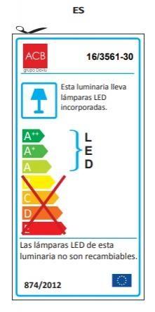 APLIQUE DUSTIN LEDS de BAÑO  [2]