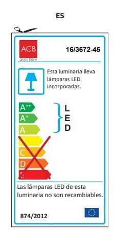 APLIQUE FLOW LEDS de BAÑO  [2]