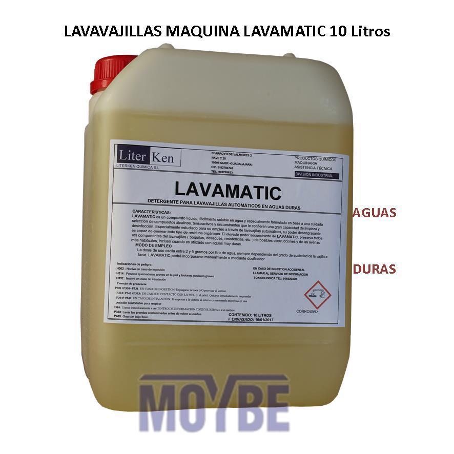 Lavavajillas Máquina Extra Aguas Duras (10 Litros)