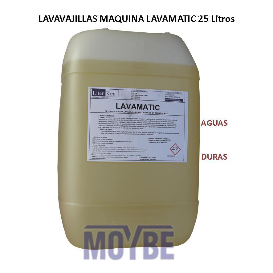 Lavavajillas Máquina Extra Aguas Duras (25 Litros)