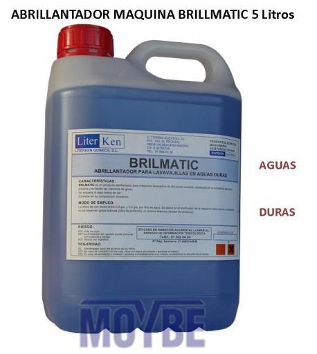Abrillantador Lavavajillas Extra Aguas Duras (5 litros)