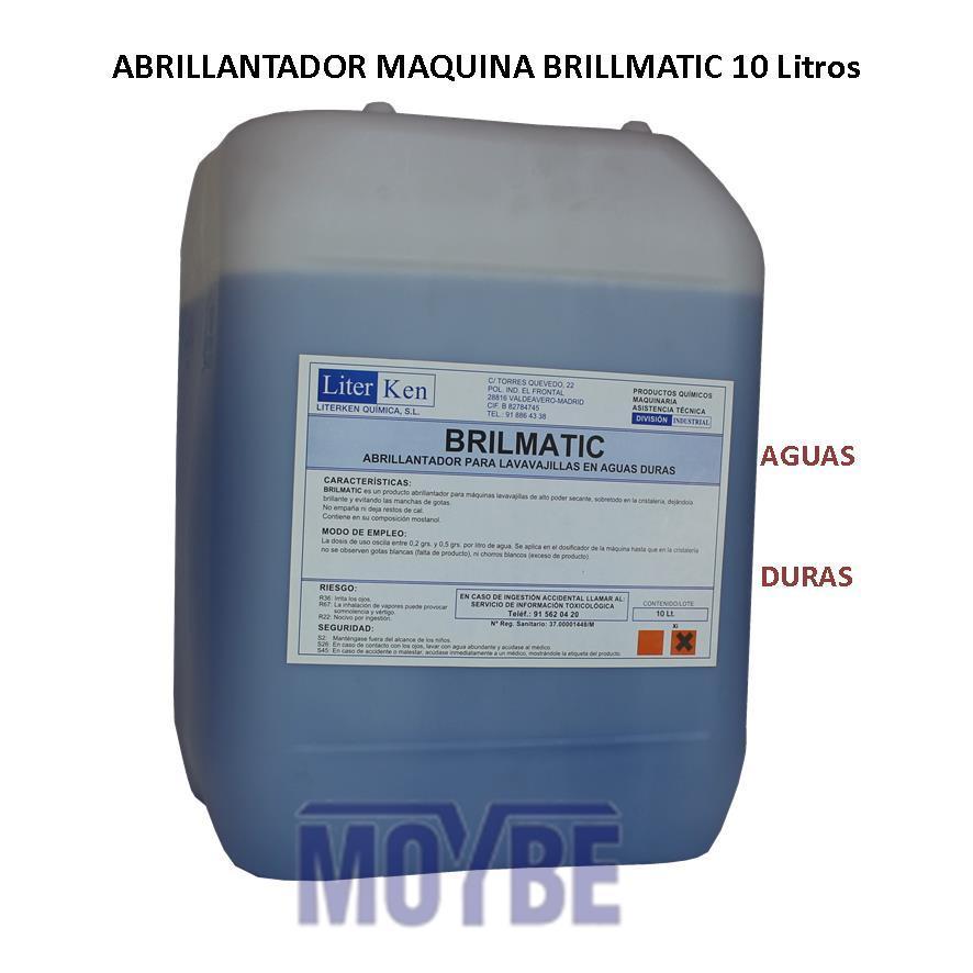 Abrillantador Lavavajillas Extra Aguas Duras (10 litros)