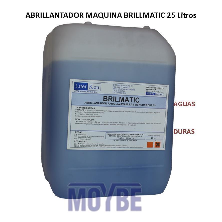 Abrillantador Lavavajillas Extra Aguas Duras (25 litros)