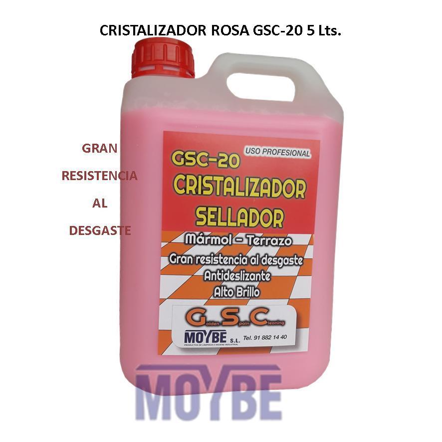 Cristalizador Sellador Rosa GSC-20 5 Litros