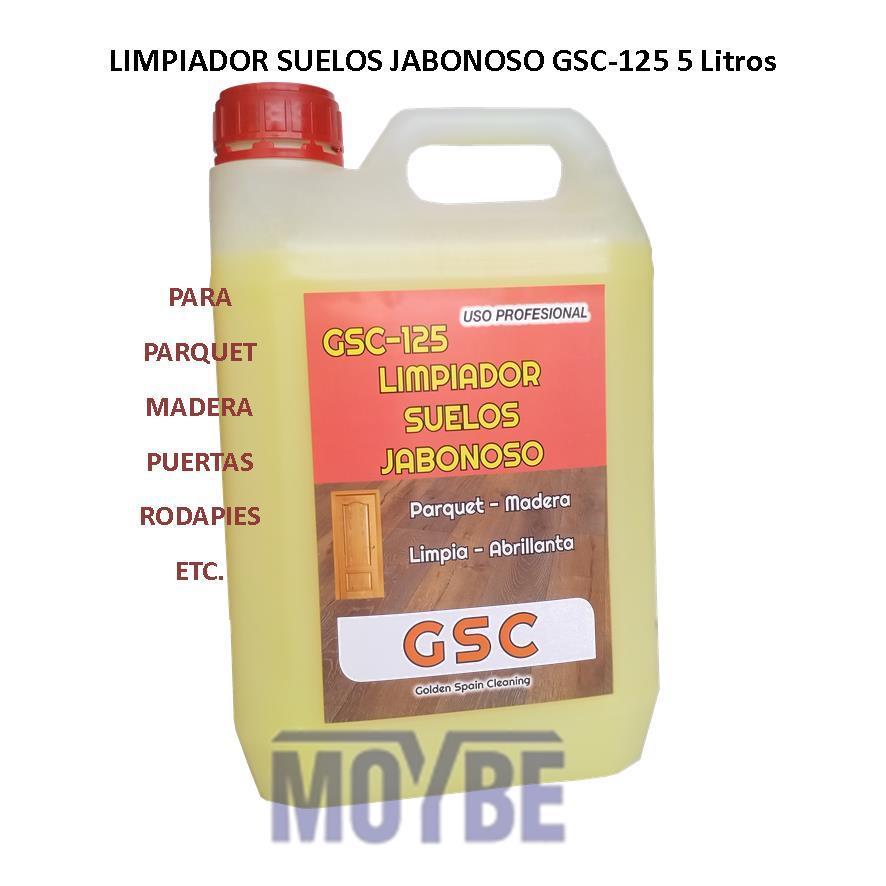 Limpiador Jabonoso Madera GSC-125 5 Litros