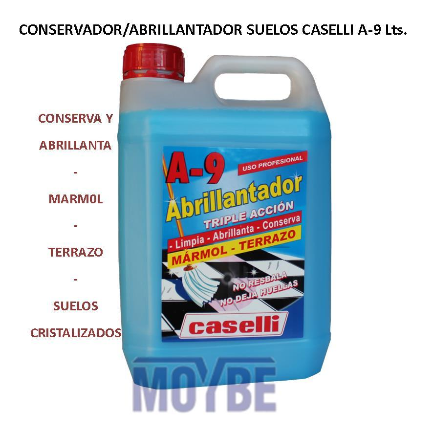 Abrillantador Conservador Cristalizados A-9 (5 litros)