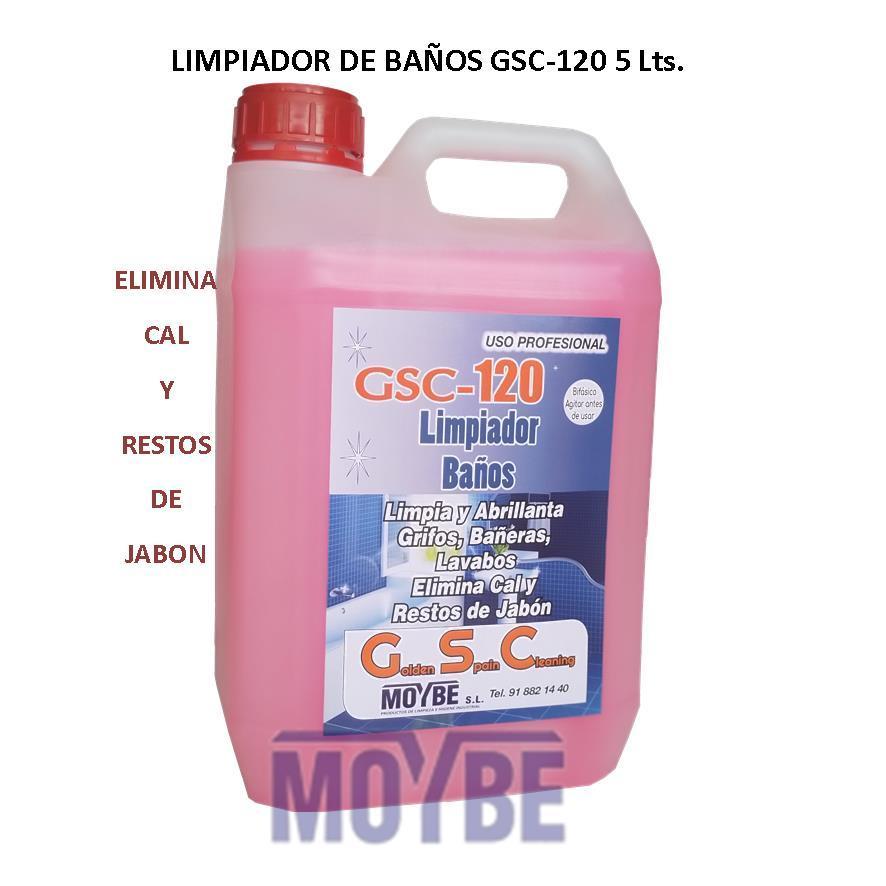 Limpiador Baños GSC-120 5 Litros