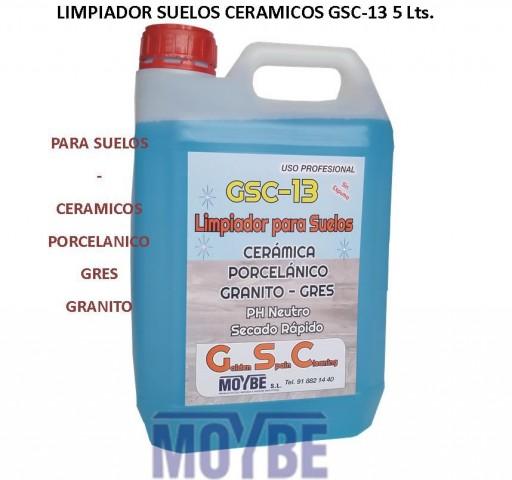 Limpiador Suelos Cerámicos GSC-13 5 Litros