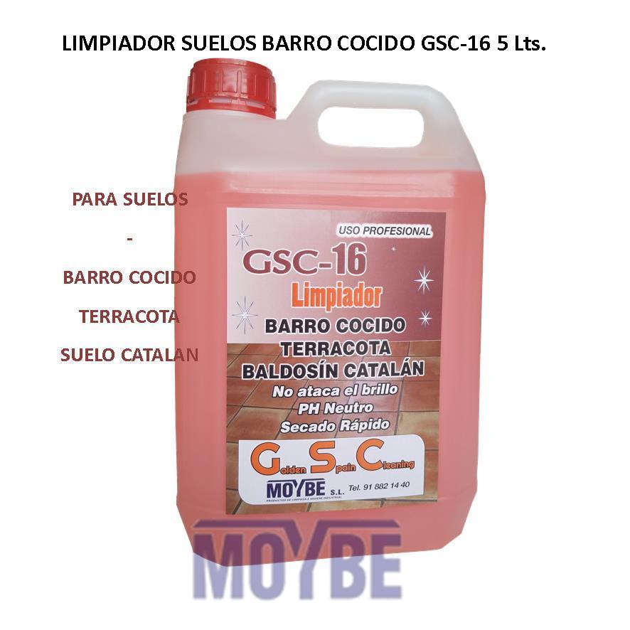 Limpiador Suelos Barro Cocido GSC-16 5 Litros