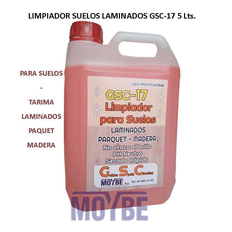 Limpiador Para Suelos Laminados GSC-17 5 Litros