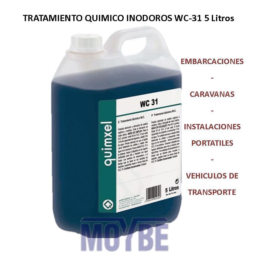 Tratamiento Químico Inodoros WC-31 5 Litros