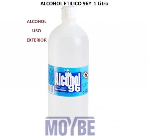 Alcohol Etílico 96º 1 Litro