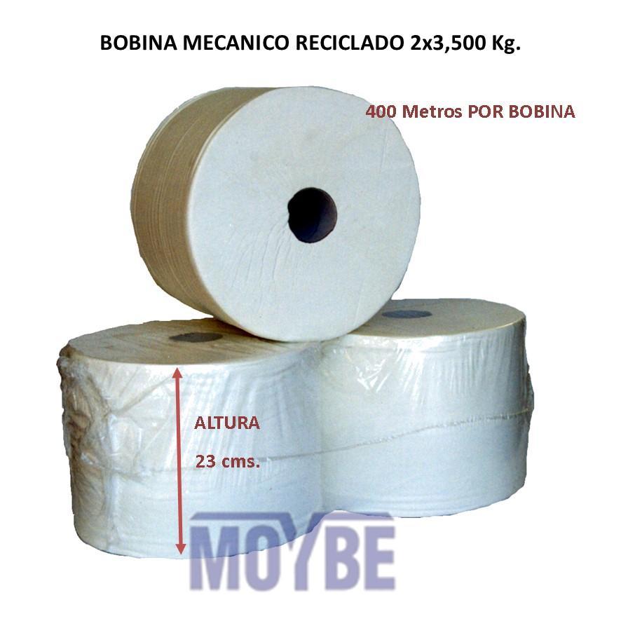 Bobina Mecánico R.B Gofrada 2 Capas (2 Unidades)