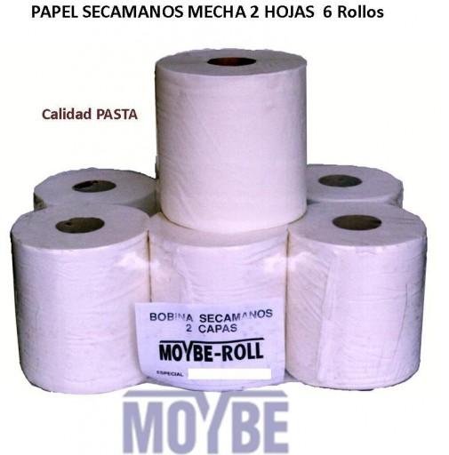 Papel Mecha Extra 2 Capas (6 Unidades)