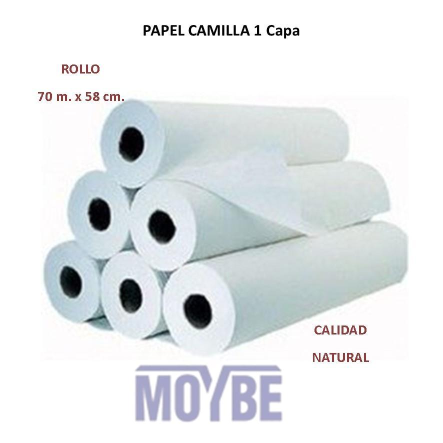 Papel Camilla 70 mts. 1 Capa (Caja 6 Unidades)