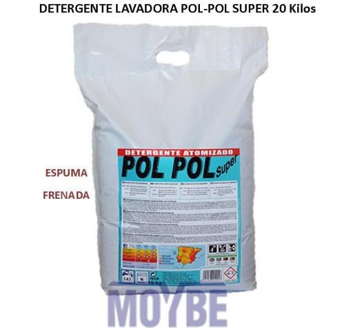 Detergente POL POL SUPER Espuma Frenada (Saco 20kg)
