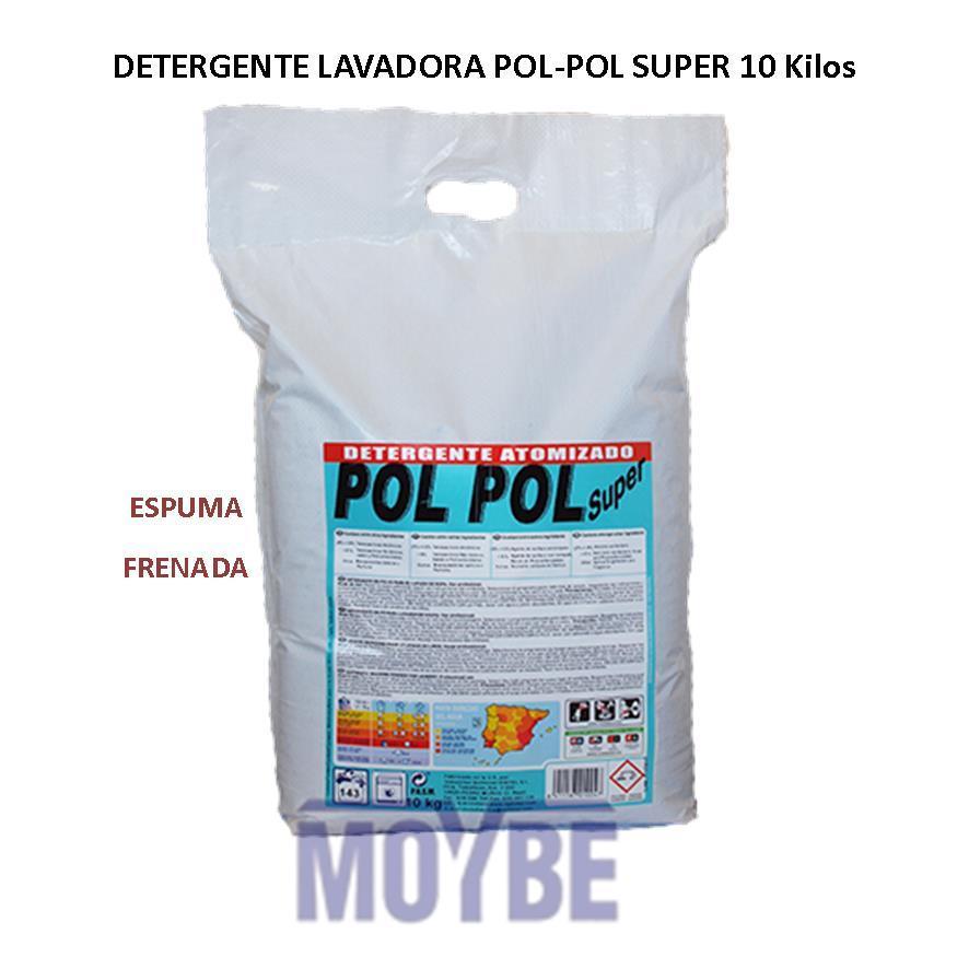 Detergente POL POL SUPER Espuma Frenada (Saco 10kg)
