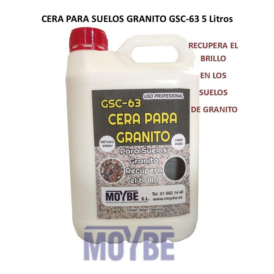 Cera Para Granito GSC-63  5 Litros