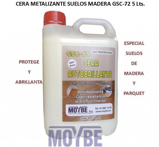 Cera Metalizante Suelos Madera/Parquet GSC-68 5 Litros [0]