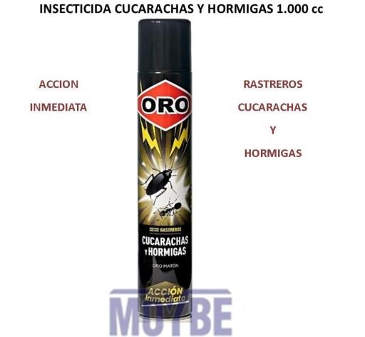 Insecticida Cucarachas/Hormigas OROSpray (1000c.c.)