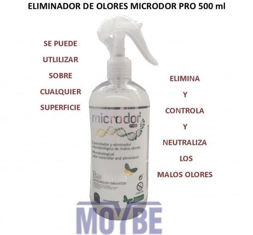 Eliminador Biológico de Olores MICRODOR PRO Pistola 500 ml.