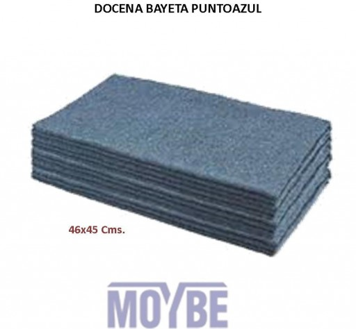 Bayeta Punto Gris 46x45 (12 Unidades)
