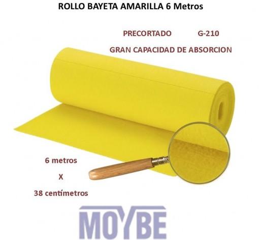 Rollo Bayeta Absorbente Precortado 600x38 G-210 [0]