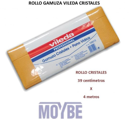 Gamuza VILEDA Cristales (Rollo 39x400 cm.)