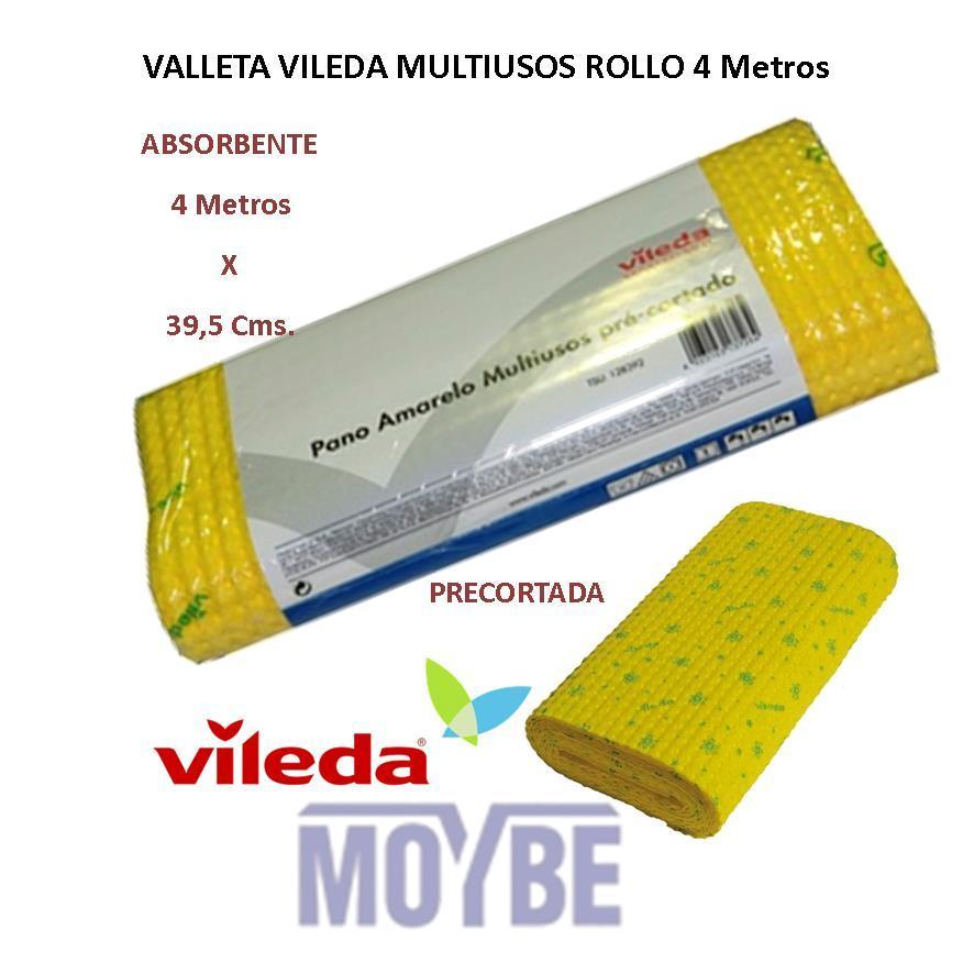 Gamuza Amarilla Vileda Suave (Rollo  39,5 cmx4 metros)