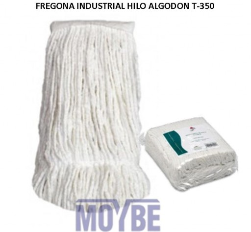 Fregona Industrial Algodón Blanco T-350