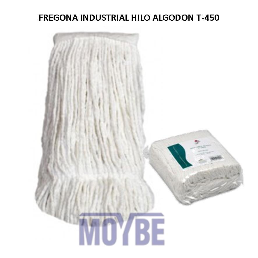 Fregona Industrial Algodón Blanco 450grs.