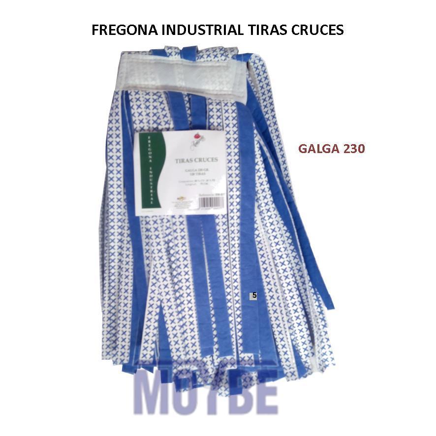 Fregona Industrial Tiras Cruces