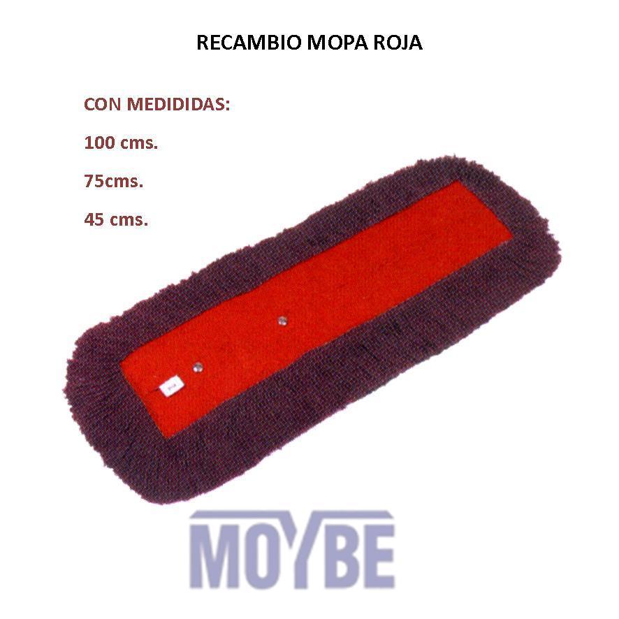 Recambio Mopa Rojo 75cm
