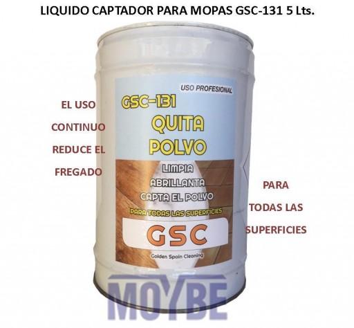 Líquido Captador Polvo Para Mopas GSC-131 5 Litros