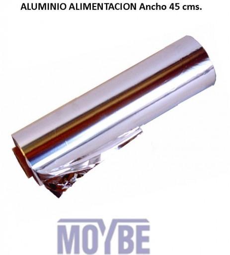 Papel Aluminio Industrial Ancho 40cms. [0]