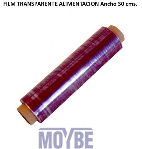 Film Transparente Alimentación Ancho 30 Centímetros.