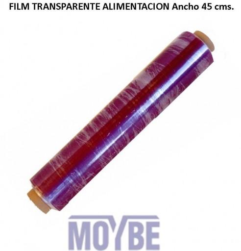 Film Transparente Alimentación Ancho 45 centímetros