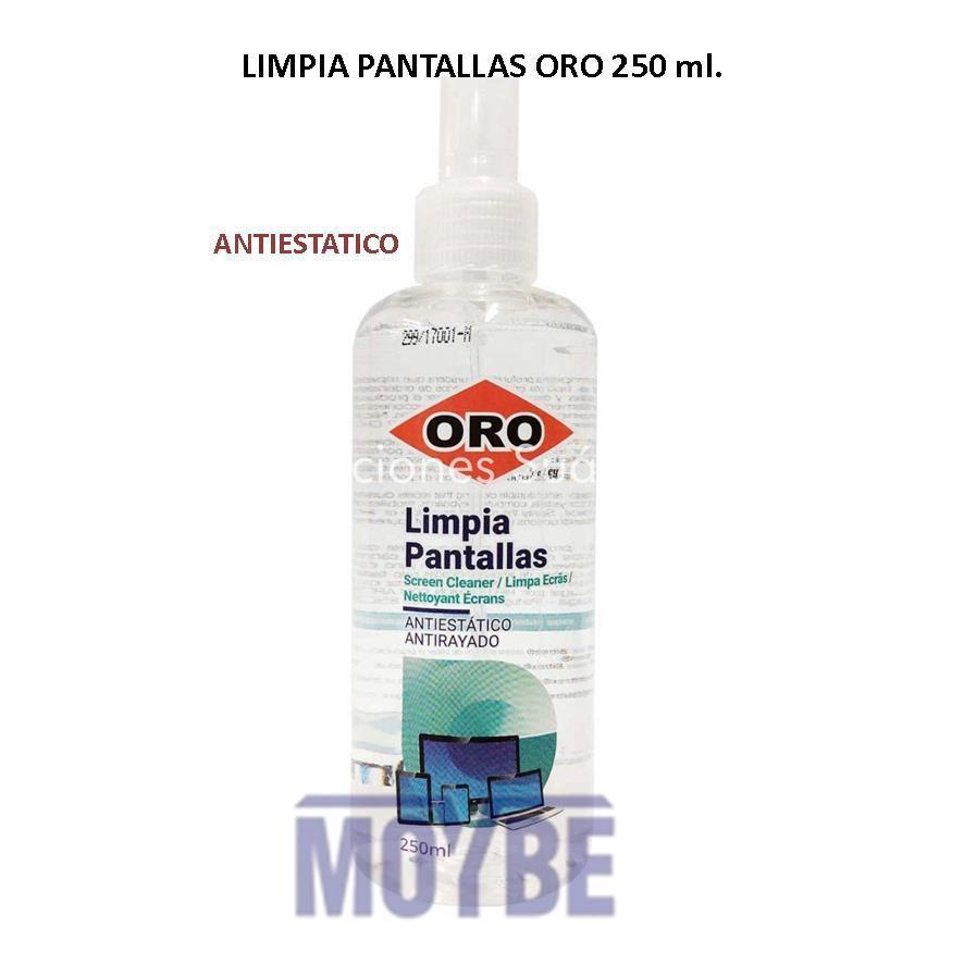 limpiador Pantallas ORO 250 ml.
