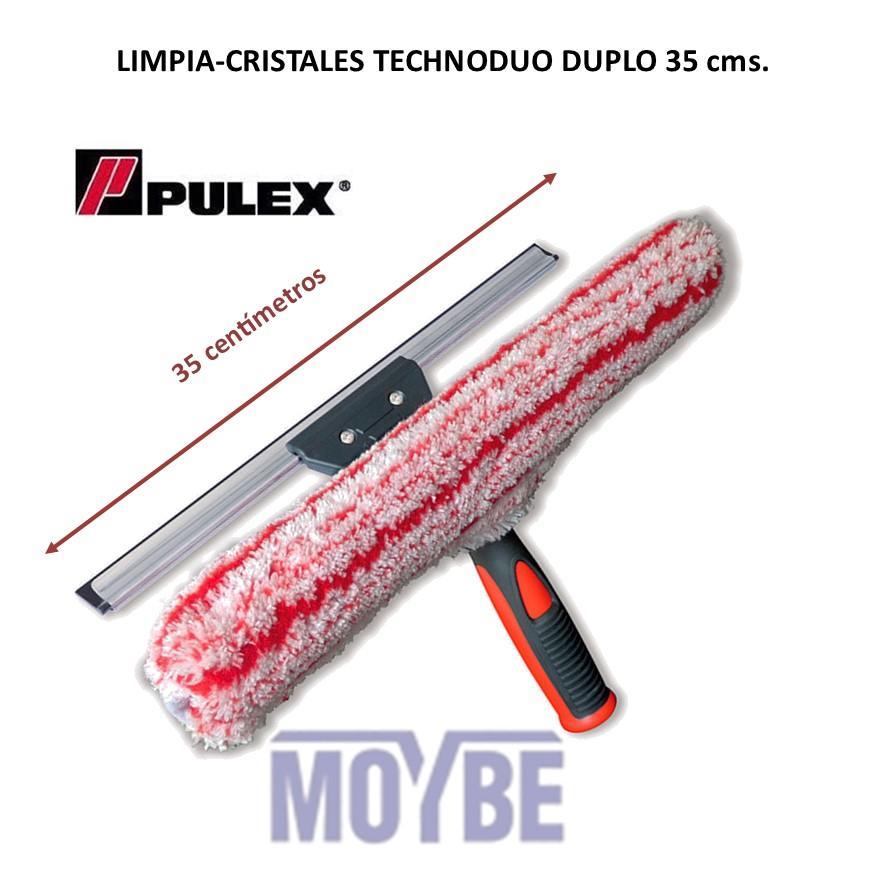 Limpiacristales Con Mojador PULEX TECHNODUO 35 Centímetros