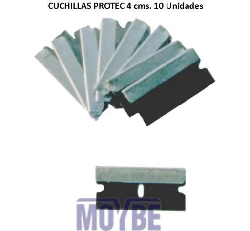 Cuchillas Rascador PROTECT (10 Unidades)