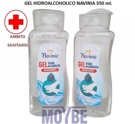 Gel Hidroalcoholico Antiséptico NAVINIA 350 ml.